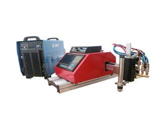 Mașină automată de tăiat cu plasmă CNC portabilă pentru oțel inoxidabil din aluminiu