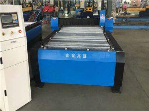 China Mașină de tăiere cu plasmă CNC de 10 mm Huayuan 100A Placă metalică