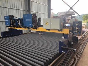 Mașină de tăiat cu plasmă CNC Gantry cu acțiune dublă pentru tăierea liniei de producție a grinzii H din oțel solid
