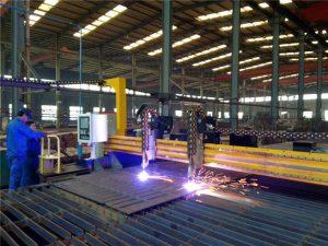 Mașină de tăiat cu plasmă Gantry CNC și mașină de tăiat flacără pentru placă de oțel
