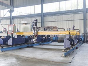 Mașină inteligentă de tăiat placă de metal cnc tip Gantry automată pentru tăiere cu plasmă și cu mașini de tăiat flacără