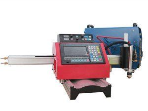 Mașină de tăiat portabil cu plasmă CNC și mașină de tăiat automată cu gaz cu șină de oțel