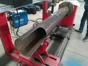 Mașină de tăiat cu plasmă CNC cu costuri reduse pentru arbore rotativ CNC