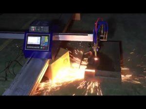 Mașină de tăiat plasmă mini-portabil cu cnc cu țeavă cu costuri reduse pentru tăierea oțelului inoxidabil din metal