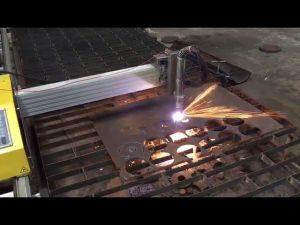mașină de tăiat portabil cu flacără cu flacără cu cnc portabil cu hipertermie 45